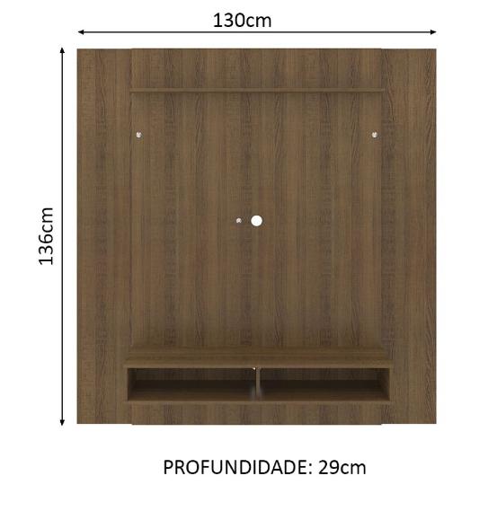 Rack Panel de TV Unsi Furniture en Tono Madera 2