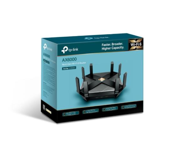 Router Tpl Archer Ax6000 Wifi 6 Ax6000 Dual Band 7