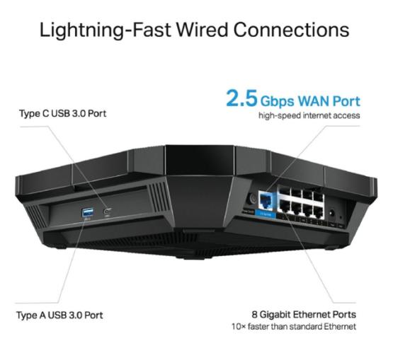 Router Tpl Archer Ax6000 Wifi 6 Ax6000 Dual Band 5