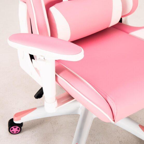 Silla Gamer Meetion Pink + White MT-CHR16 3
