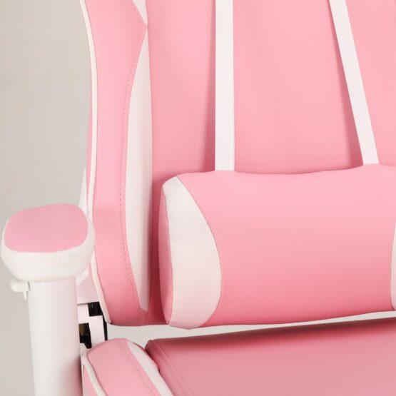 Silla Gamer Meetion Pink + White MT-CHR16 4