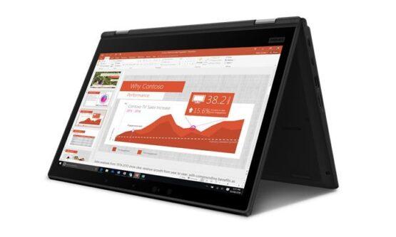 "2 en 1 Lenovo ThinkPad L390 Yoga / 13.3""/ i3-8145U/ 128GB SSD/ 4GB/ IPS Touchscreen/ WIN10 2"