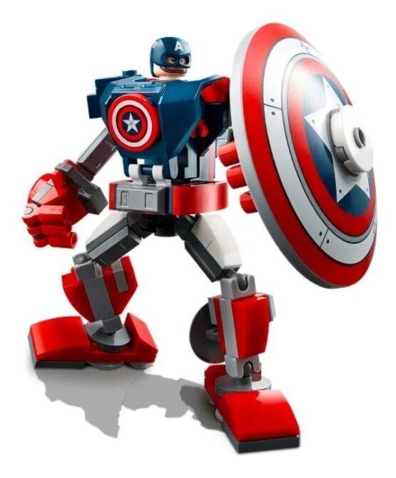 Armadura Robotica Lego del Capitan America 1