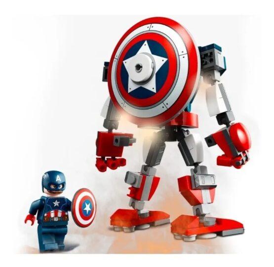 Armadura Robotica Lego del Capitan America 2