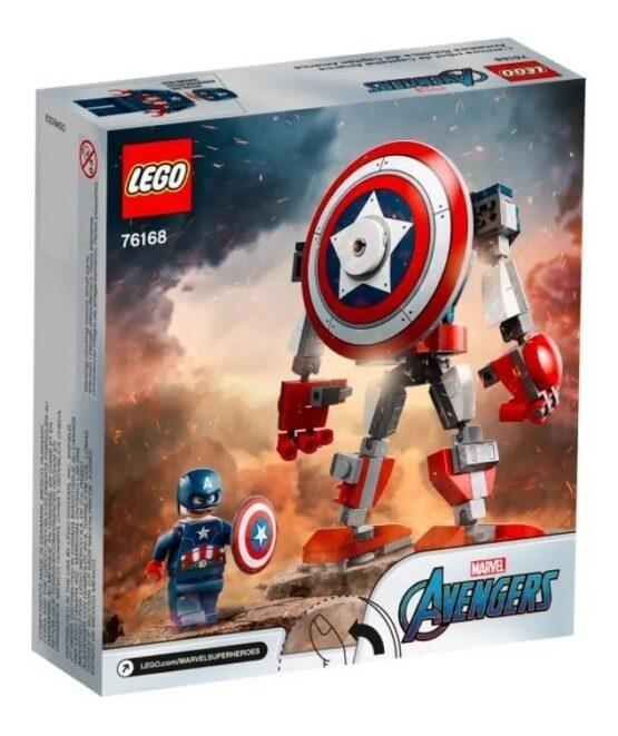 Armadura Robotica Lego del Capitan America 5