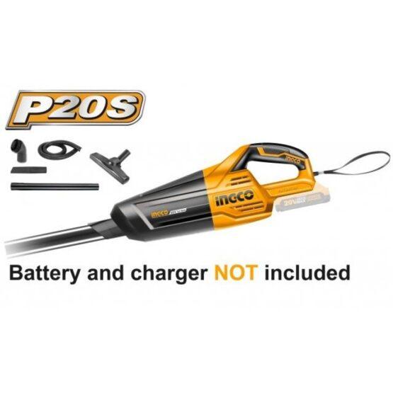 Aspiradora a Bateria para Auto 20 Volt. Ingco CVLI2001 Linea P20S 2