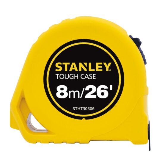 """Cinta Metrica Stanley Tough Case 8m.x 3/4"""" bl. Ancha 1"""