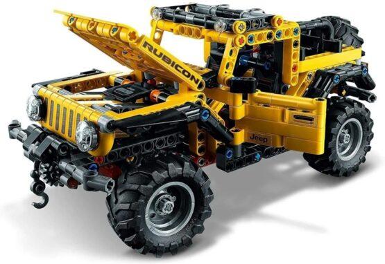Lego Technic Jeep Wrangler 4