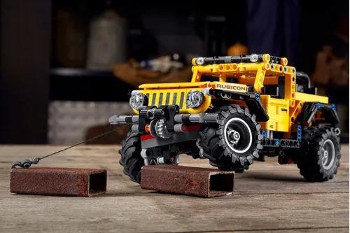 Lego Technic Jeep Wrangler 5