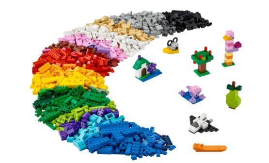 Juego Lego Classic Creative Brick Box 1200 Piezas 2