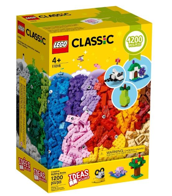 Juego Lego Classic Creative Brick Box 1200 Piezas 1