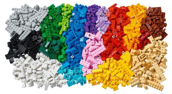 Juego Lego Classic Creative Brick Box 1200 Piezas 3