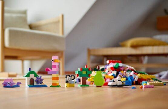 Juego Lego Classic Creative Brick Box 1200 Piezas 7