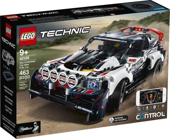 Lego Technic Auto Top Gear Rally Controlado por App 4
