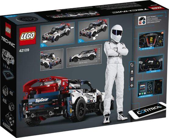 Lego Technic Auto Top Gear Rally Controlado por App 5