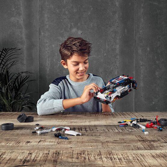 Lego Technic Auto Top Gear Rally Controlado por App 6