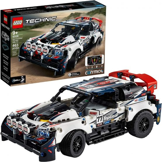 Lego Technic Auto Top Gear Rally Controlado por App 1