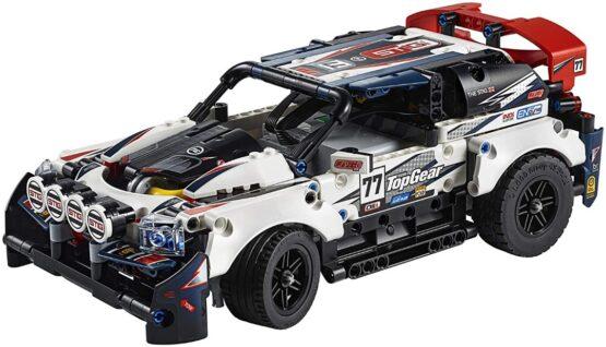 Lego Technic Auto Top Gear Rally Controlado por App 2