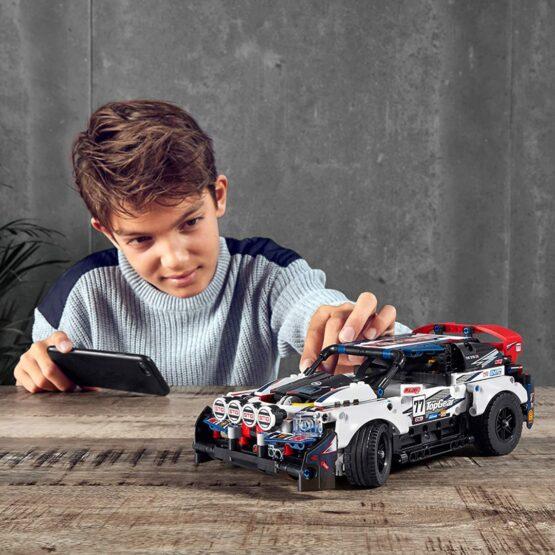 Lego Technic Auto Top Gear Rally Controlado por App 3