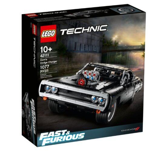 Lego Technic Dom's Dodge Charger Rapidos y Furiosos 3