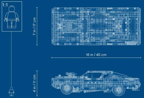 Lego Technic Dom's Dodge Charger Rapidos y Furiosos 7