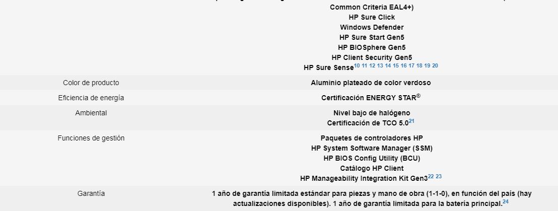 "Notebook HP 8ZN63LT#ABM / 15.6"" / I7 / 8GB / 1TB / Win10 Pro 12"