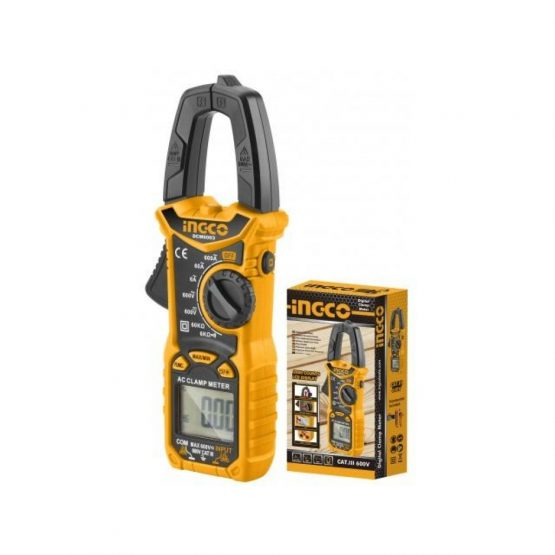Pinza Amperimetrica Tester Multimetro Digital Ingco DCM6003 1
