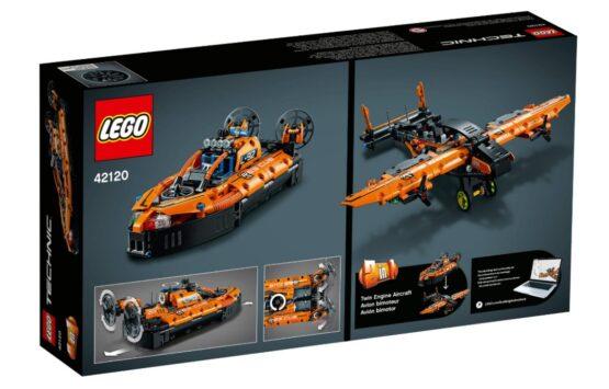 Set Lego Technic Aerodeslizador de Rescate 2 en 1 3