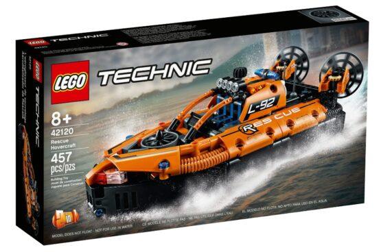 Set Lego Technic Aerodeslizador de Rescate 2 en 1 7