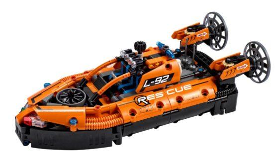 Set Lego Technic Aerodeslizador de Rescate 2 en 1 1