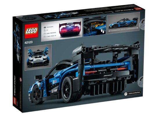 Set Lego Technic McLaren Senna GTR 2
