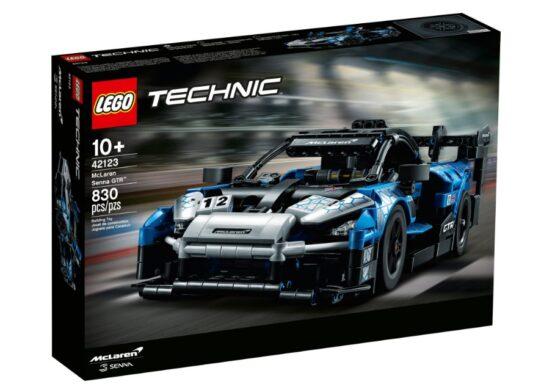 Set Lego Technic McLaren Senna GTR 7