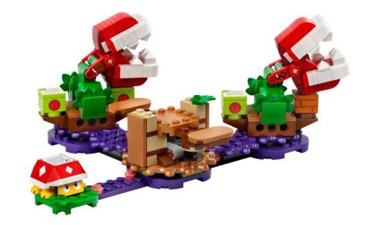 Set Lego de Expansion Desafio de las Plantas Piraña 1