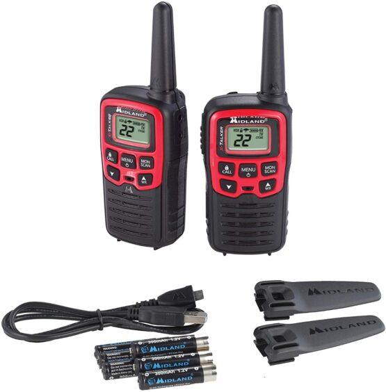 2 Radios Walkie Talkies Midland T31 con 22 Canales 3