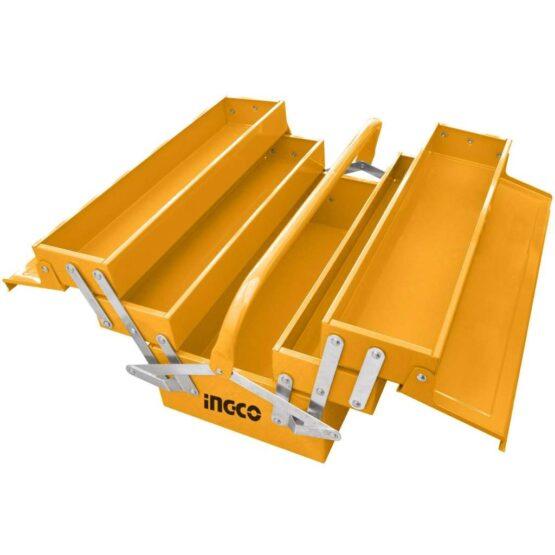 Caja de Herramientas Metal 3 Estantes 400X200X195MM Ingco HTB03 1