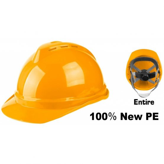 Casco Ingco de Seguridad Amarillo HSH201 1