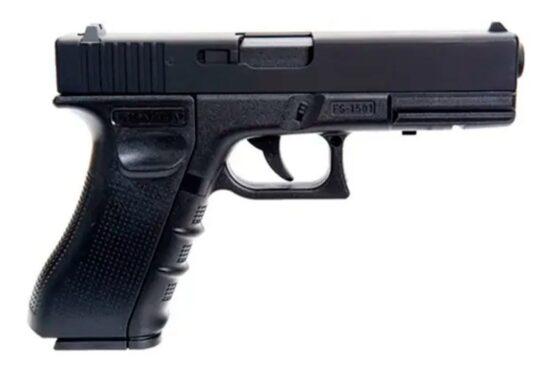 Pistola CO2 Shan Chun Glock 17 CAL. 4.5MM Negra 1