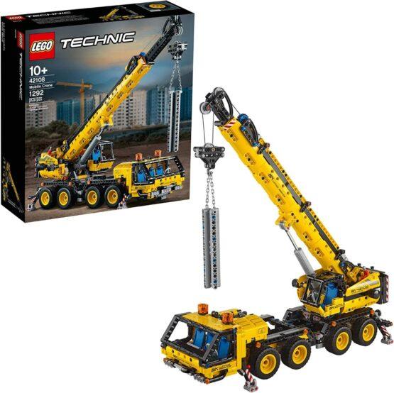 Lego Technic Kit de Construccion de Grua Movil 2