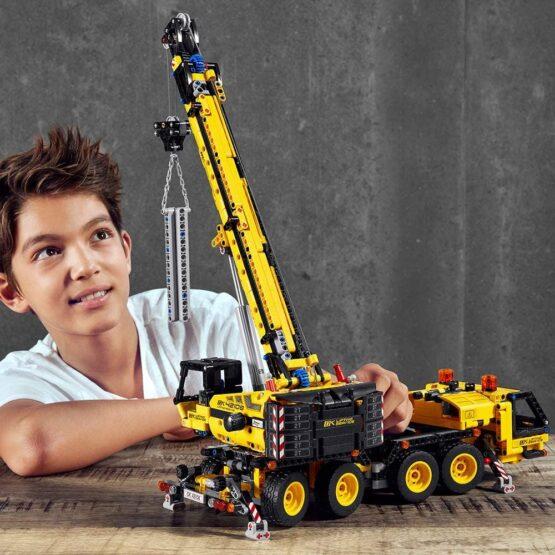 Lego Technic Kit de Construccion de Grua Movil 3