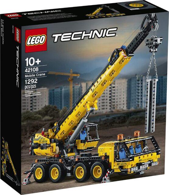 Lego Technic Kit de Construccion de Grua Movil 4