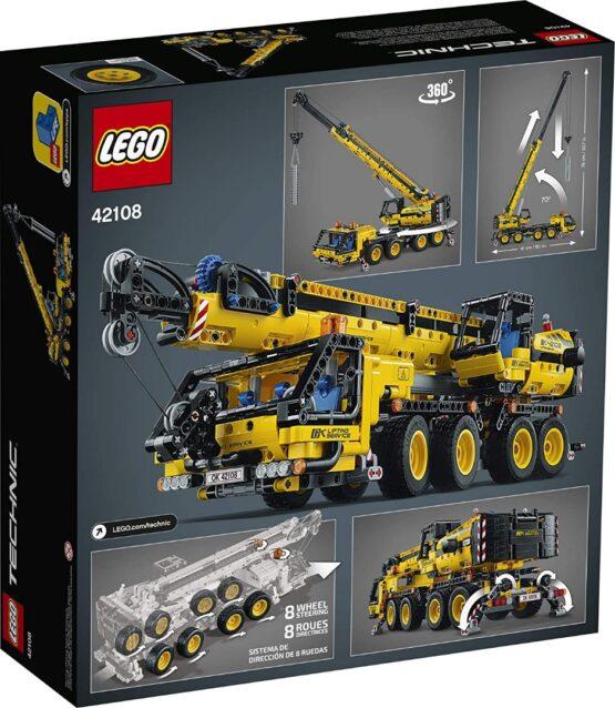 Lego Technic Kit de Construccion de Grua Movil 5
