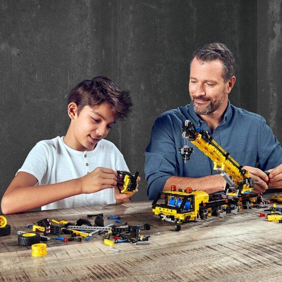 Lego Technic Kit de Construccion de Grua Movil 6
