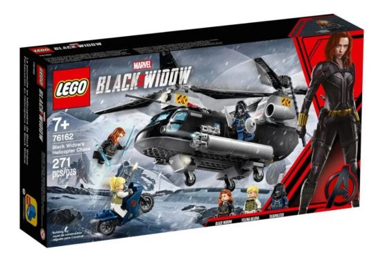 Helicoptero Lego Marvel Black Widow 1