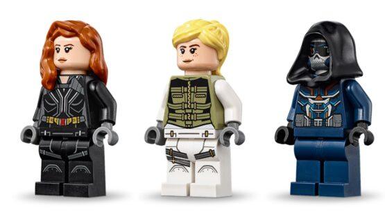 Helicoptero Lego Marvel Black Widow 3