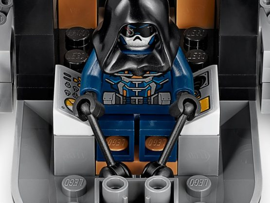 Helicoptero Lego Marvel Black Widow 4