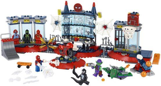 Lego Spiderman Ataque a la Guardia de Arañas 5