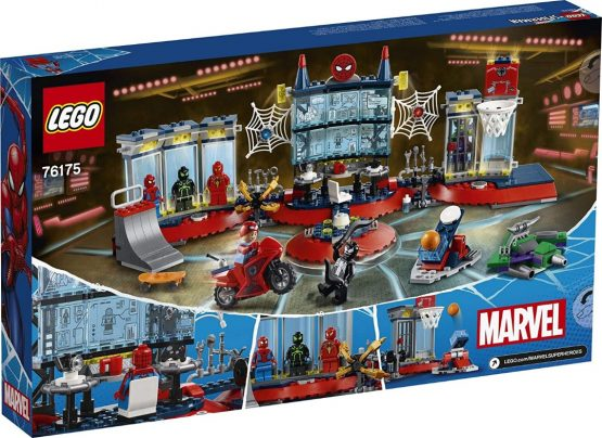 Lego Spiderman Ataque a la Guardia de Arañas 1