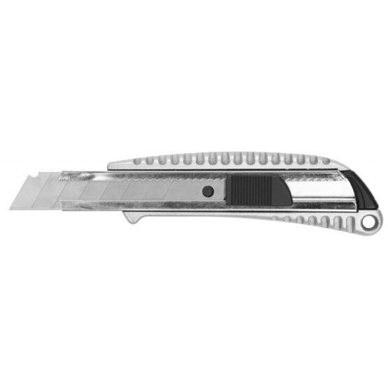 Trincheta 18 MM Cuerpo de Aluminio Ingco HKNS1807 1