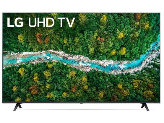 "Televisor Lg Led Ultra HD 4K Active HDR Smart de 65"" Modelo 65UP7750/ Procesador a5 AI/ ThinQ AI 4"