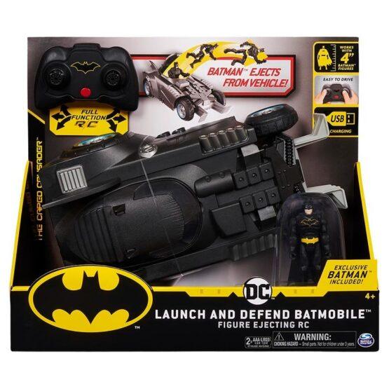 Batman Batimovil Lanza y Defensa 4